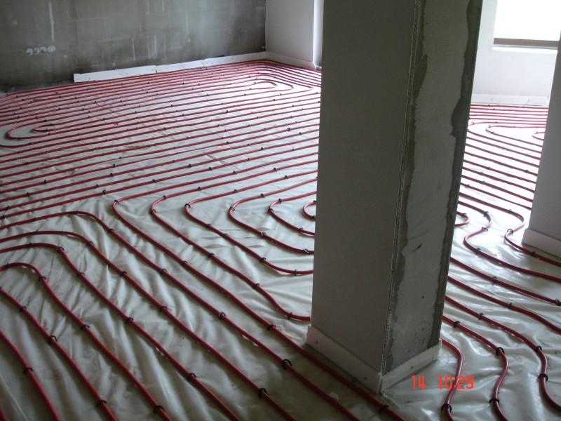 Montáž podlahového teplovodného kúrenia