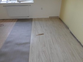 Montáž podlahy